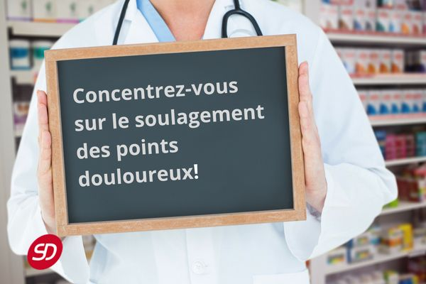 Soulagement des points douloureux