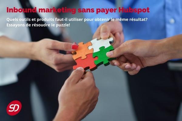 inbound marketing sans payer hubspot