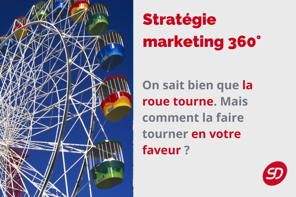 stratégie marketing 360°