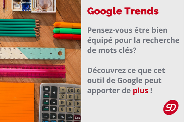 Google trends et strategie SEO