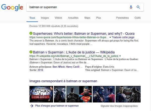 comment faire une recherche multiple sur google