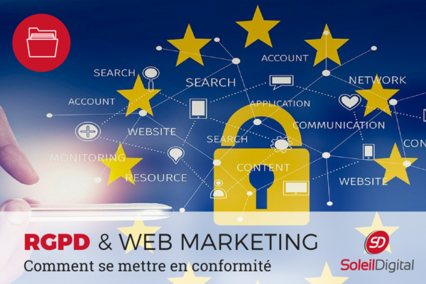 Le RGPD et le web marketing