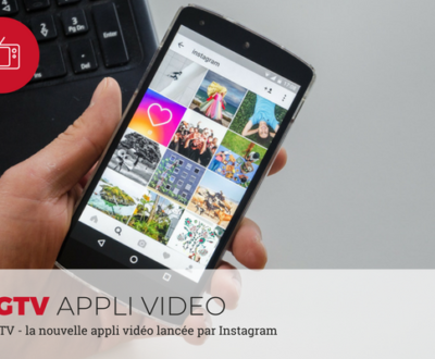 IGTV - appli vidéo