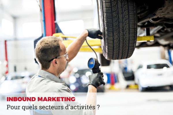 inbound marketing secteur activité