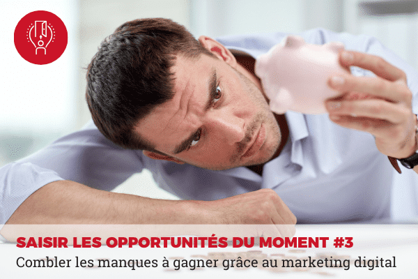 marketing digital combler les pertes