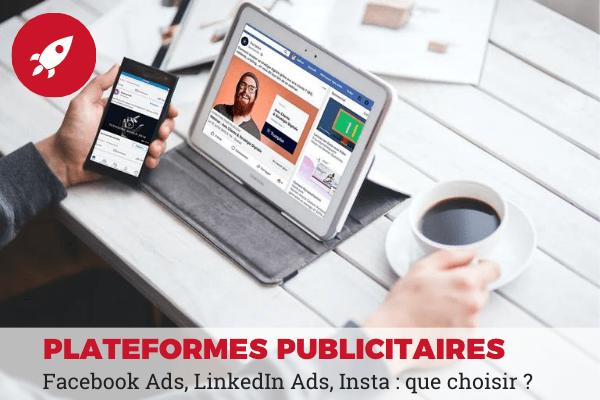 facebook ads, linkedin ads, instagram ads